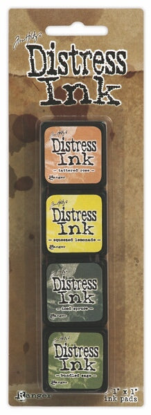 Tim Holtz Distress Mini Ink Pad Kit - Set 10