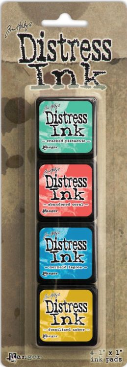 Tim Holtz Distress Mini Ink Pad Kit - Set 13