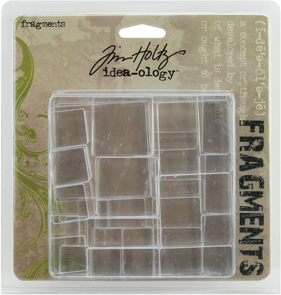 Tim Holtz Idea-ology Fragments Squares and Rectangles