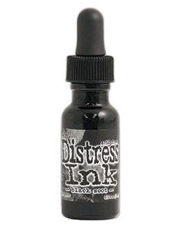 Tim Holtz Distress Ink Reinker - Black Soot