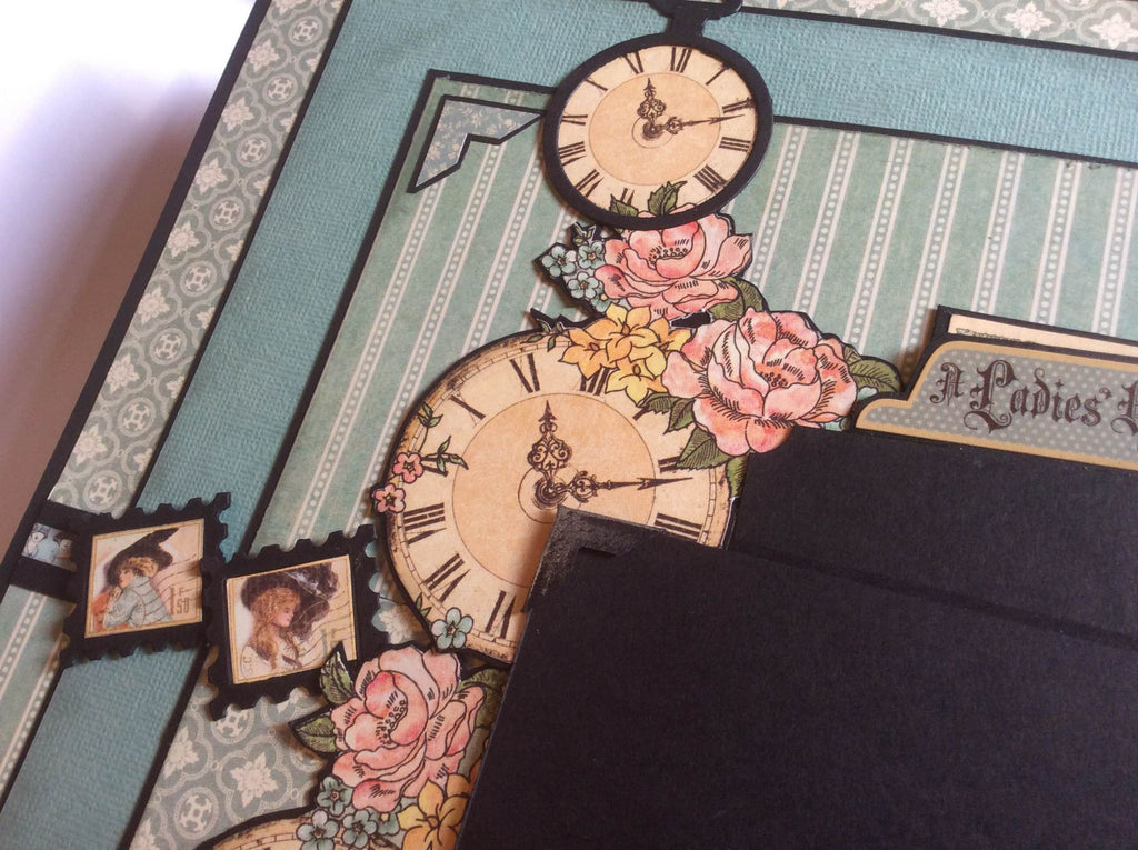 A Ladies Diary 12 x 12 Scrapbook PDF Tutorial