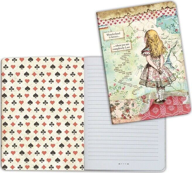 A5 Notebook - Alice - Stamperia