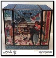 Christmas Carol Event Organiser, File Folder and Planner PDF Tutorial