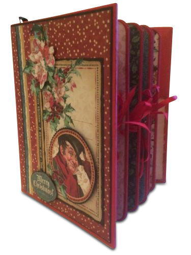 Christmas Carol File Folder and Planner PDF Tutorial