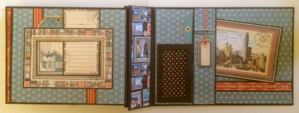Cityscapes Post Bound Album PDF Tutorial