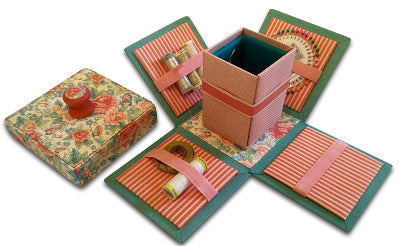 Exploding Sewing Box Kit