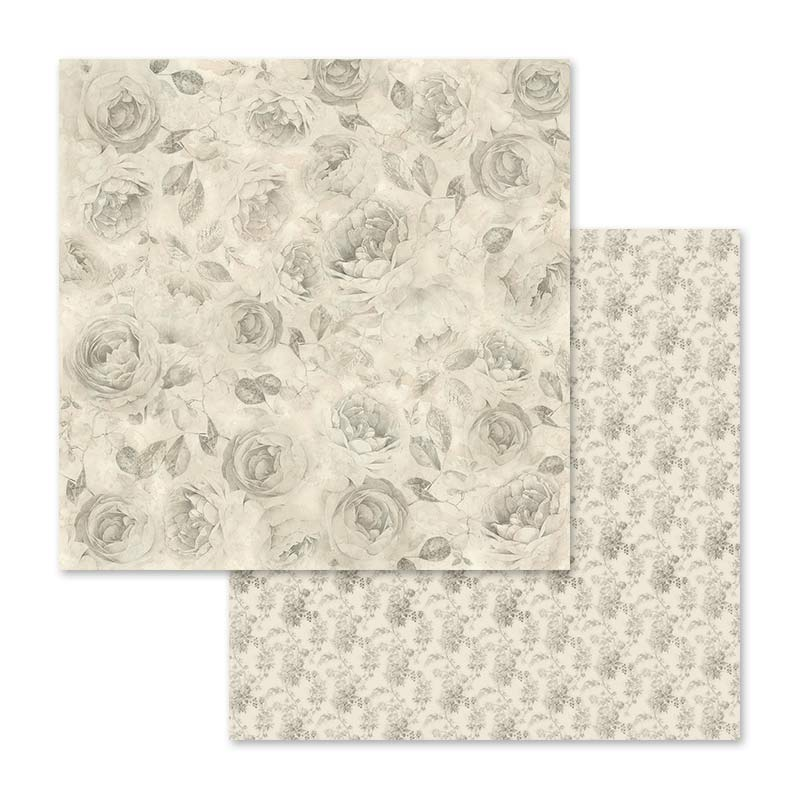 Stamperia Shabby Rose 12 x 12 Paper Pad