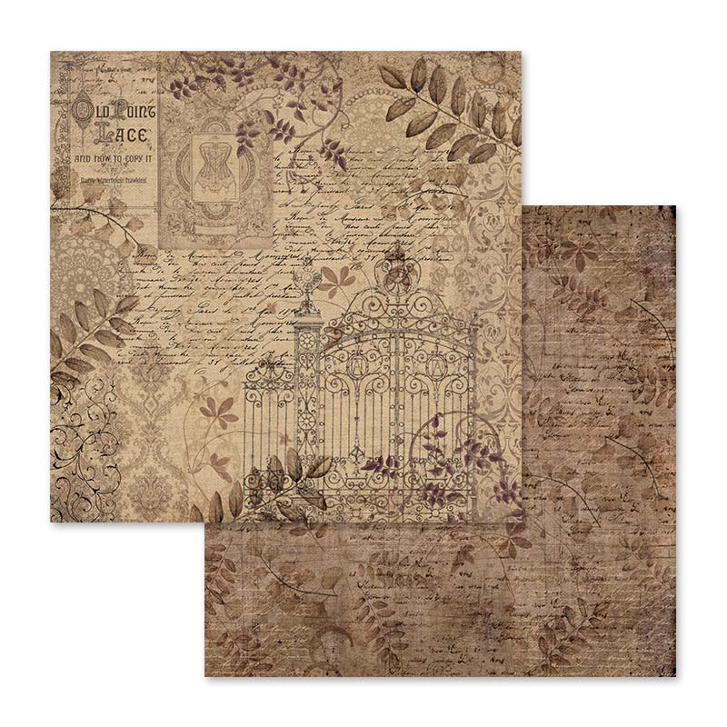 Stamperia Old Lace 12 x 12 Paper Pad
