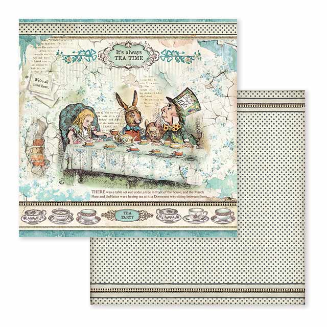 Stamperia Alice Collection Bundle