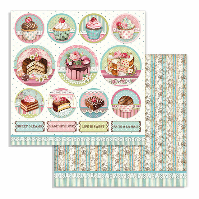 Stamperia Sweety 12 x 12 Paper Pad