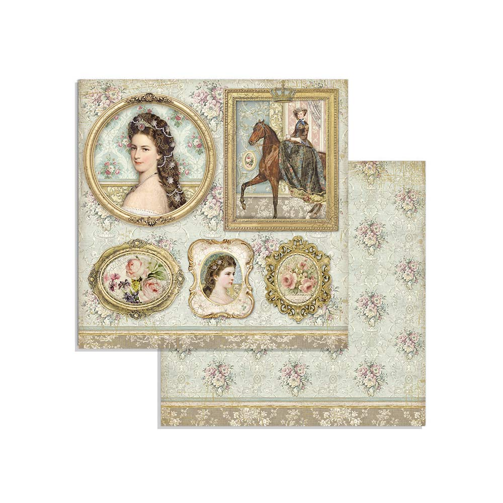 Stamperia Princess 8 x 8 Paper Pad