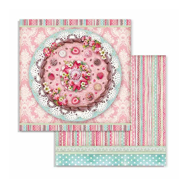 Stamperia Sweety 8 x 8 Paper Pad