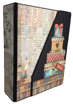 Patchwork Album Cover and Spine Set