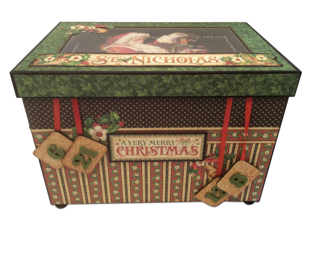 St Nicholas Advent Box PDF Tutorial