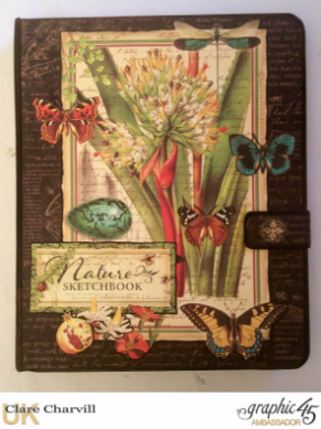 Nature Sketchbook Planner PDF Tutorial