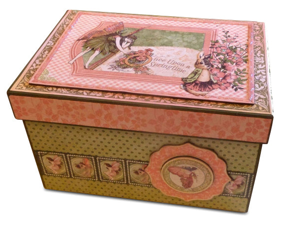 Once Upon a Springtime Album and Box Kit