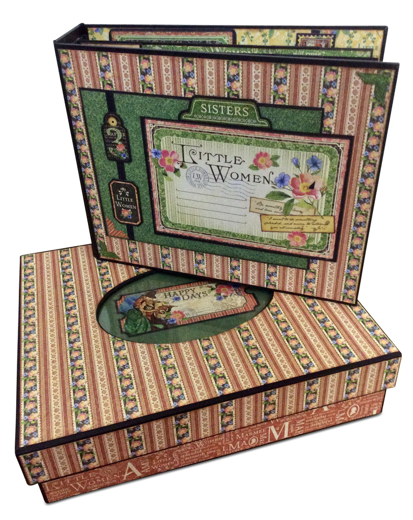 Oval Window Box and Album Cover Set