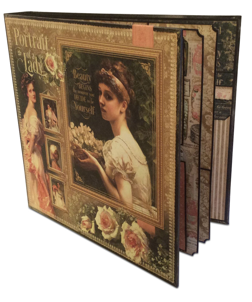 "Portrait of a Lady 11"" Presentation Album and Case PDF Tutorial"