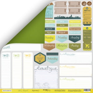 Let's Travel 12 x 12 Paper Pack - Scrapmir