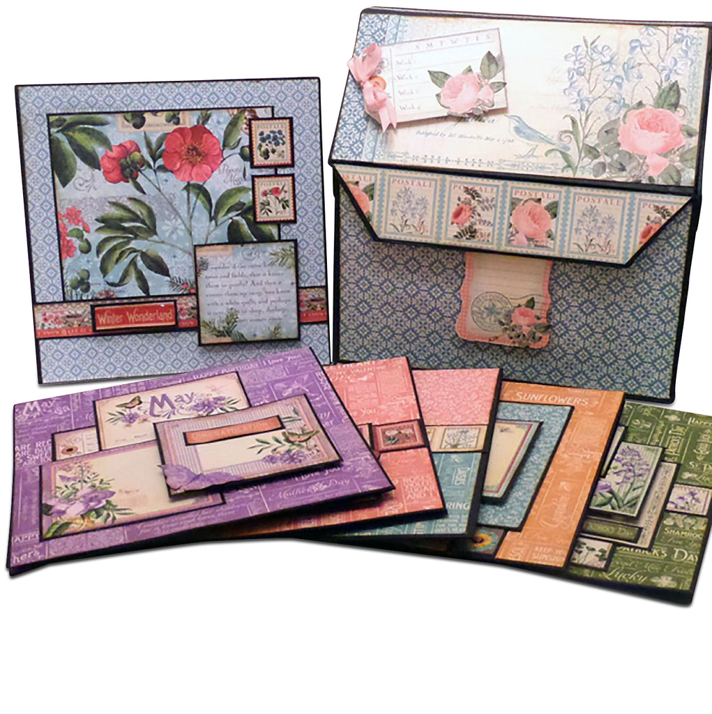 Time to Flourish Box of Cards PDF Tutorial