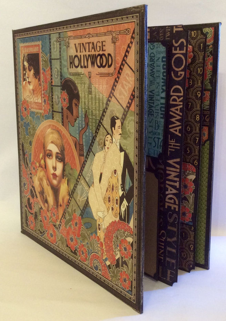 "Vintage Hollywood 11"" Presentation Album and Case PDF Tutorial"