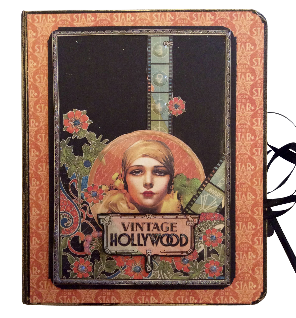 Vintage Hollywood Folio Album PDF Tutorial