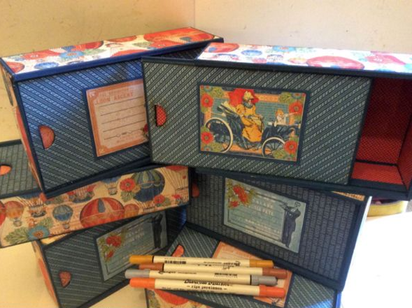 Vintage Style Pencil Case Kit