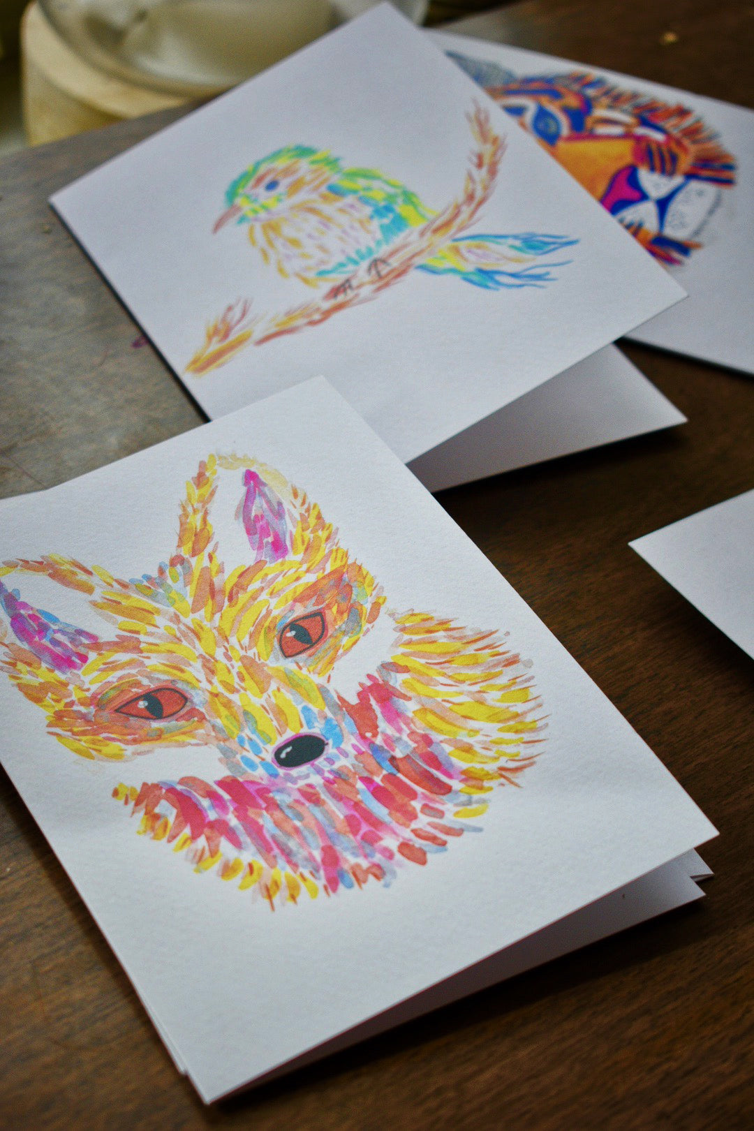 Adventurous Fox Greeting Card