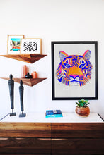 Load image into Gallery viewer, Tiger Spirit Animal - Limited Edition Hand Detailed Print *Numbered