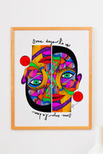 Load image into Gallery viewer, Some days I'm up, some days I'm down  - Art Print