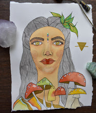 Load image into Gallery viewer, Earth Goddess - Original Artwork