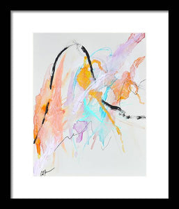 She Moves - Framed Print