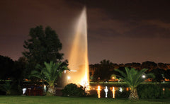 Otterbine Large Lake Fountains