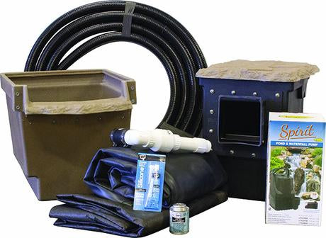 Kits & Supplies for Garden Pond Waterfall Designs