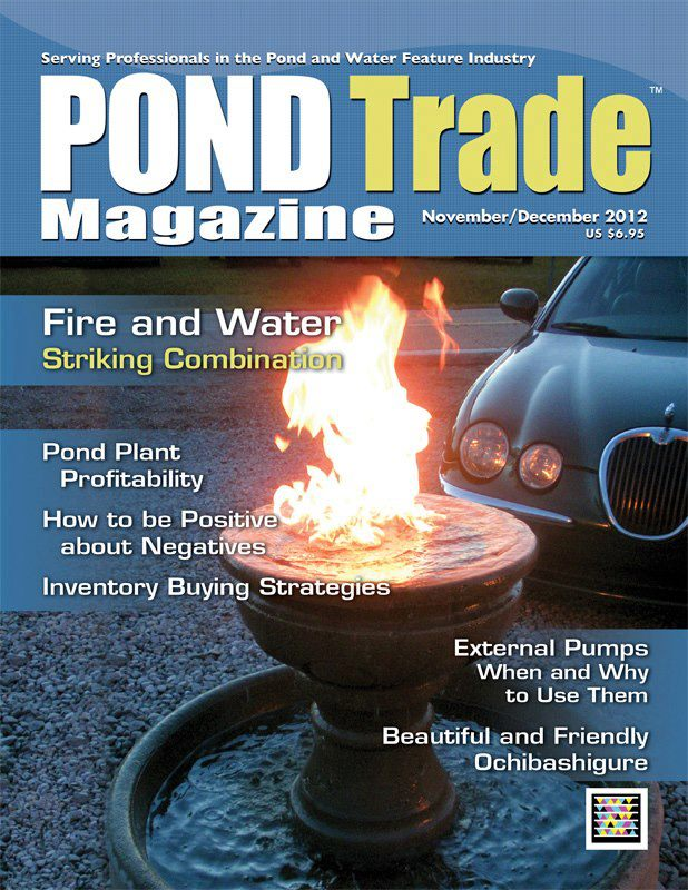 Pond Trade Magazine Fire Fountains