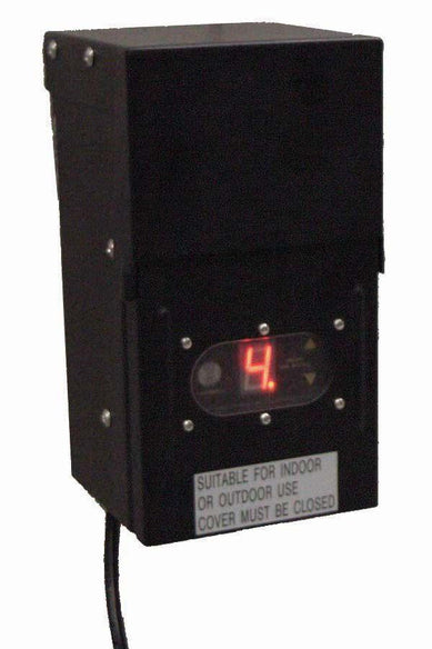 300 Watt Transformer with Photoeye and timer - 120 V to 12 V