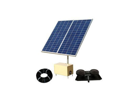 Solar Pond Aerator 7 AerMaster Direct Drive Electric Combo