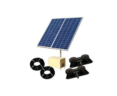 Solar Pond Aerator 8 AerMaster Direct Drive Electric Combo