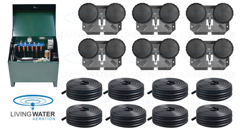AirPro Deluxe Pond Aerator Kit - 3 to 9 Acres