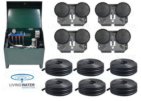 AirPro 3/4 HP Rotary Vane Pond Aerator Kit - up to 6 Acre Ponds
