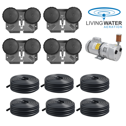 AirPro 3/4 HP Rotary Vane Pond Aerator Kit
