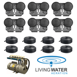 AirPro Rotary Vane Pond Aerator Kit - 3 to 9 Acre Ponds