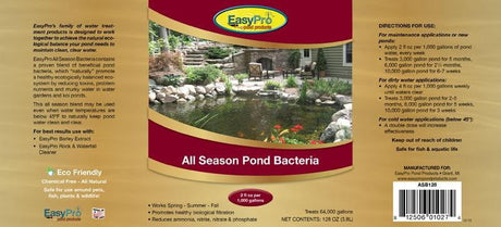 All Season Liquid Pond Bacteria - 55 Gallon Drum