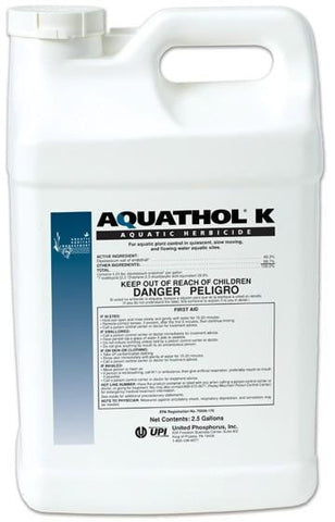 Aquathol Super K Liquid 2.5 Gallons