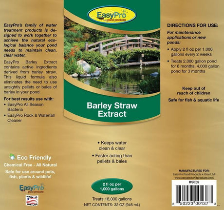 Barley Straw Liquid Extract - 55 Gallon Drum
