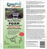 EasyPro Black Expandable Foam - Ready to use - 20 oz