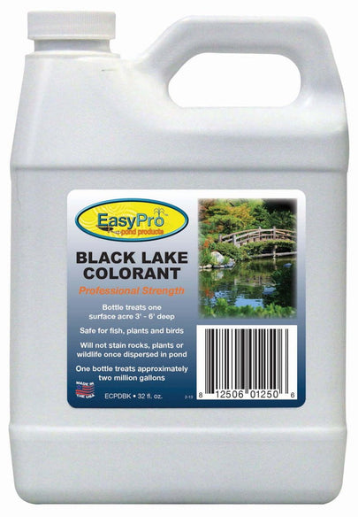Easypro Concentrated Pond Dye - 1 qt Black - Living Water Aeration