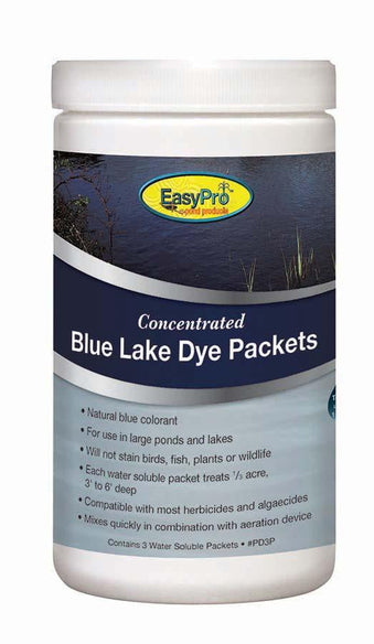 Easypro Concentrated Pond Dye Powder - Blue