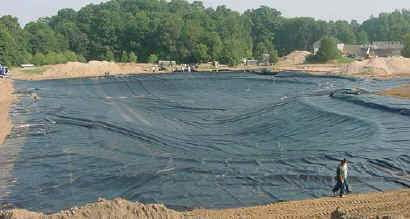 Easyweave Pond Liner - 10'x100' - Living Water Aeration