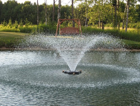 3/4 HP Kasco Aerating Pond Fountain - 230v